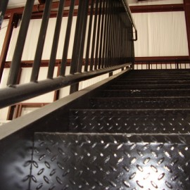 Custom Steel Stairs for Gwinnett Water
