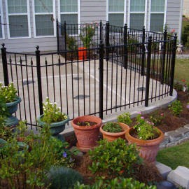 Residential Ornamental Fencing